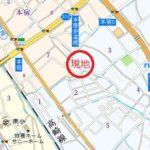 中丸3丁目案内図